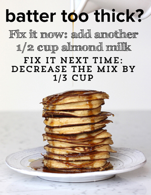 Paleo tips - Pancakes and more