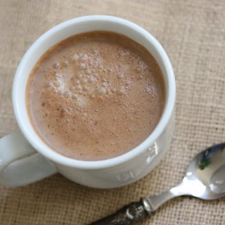 Thick Dairy-Free Hot Chocolate, part 2: nut-free, soy-free, added gum-free