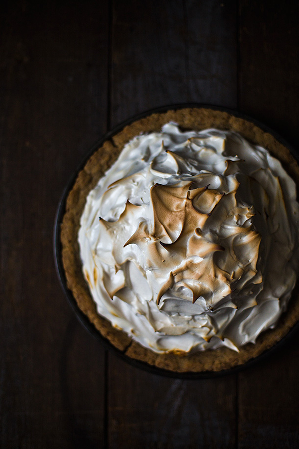 Sweet Potato Meringue Pie - The Spunky Coconut