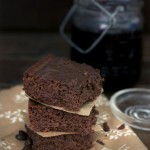 gluten-free coffee brownies