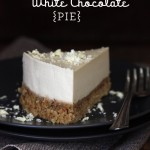 paleo white chocolate pie