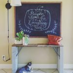 diy chalk board