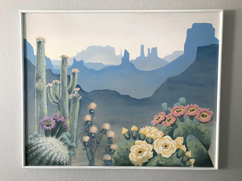 Paint Over Thrift Store Art
